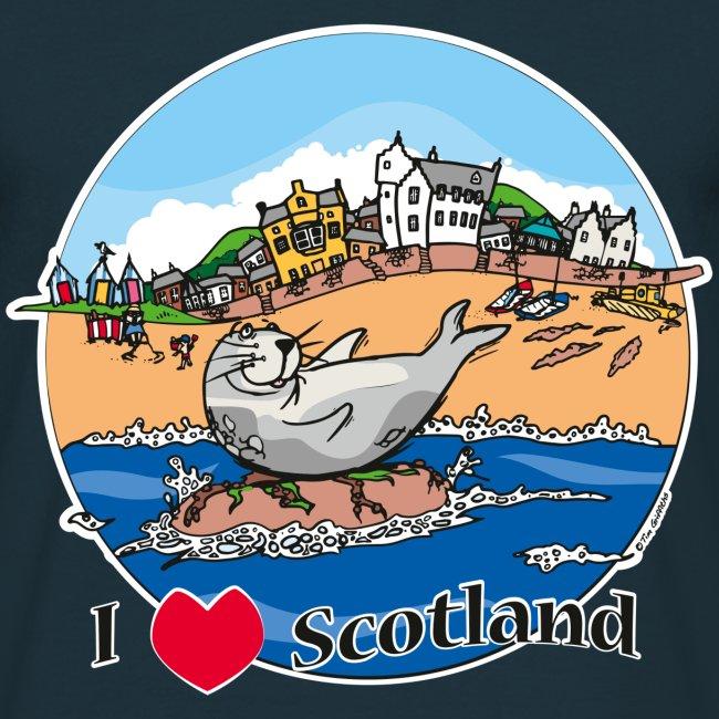 I love Scotland (Navy)