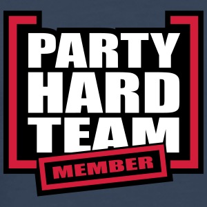 Party Hard Team Member T-skjorter - Premium T-skjorte for menn