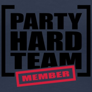 Party Hard Team Member T-Shirts - Frauen Premium T-Shirt