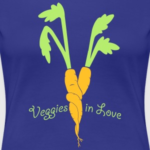 veggies in love T-Shirts - Frauen Premium T-Shirt
