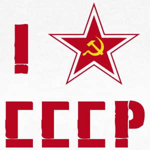 I Love Russia CCCP T-Shirts - Frauen T-Shirt