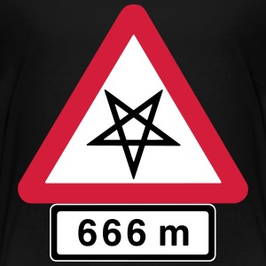 Satanic Danger, Highway to Hell.  - Teenage Premium T-Shirt