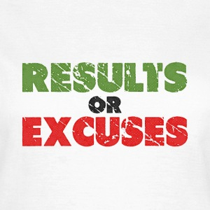 Resultaten of Excuses | Vintage Style T-shirts - Vrouwen T-shirt