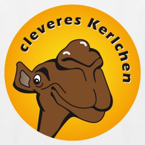 cleveres Kerlchen - Kinder Baseball T-Shirt