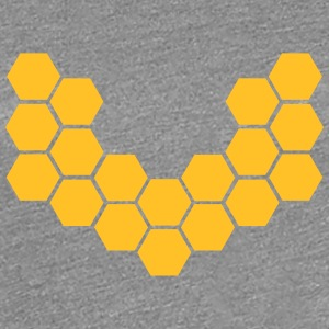 Honeycombs T-shirts - Vrouwen Premium T-shirt