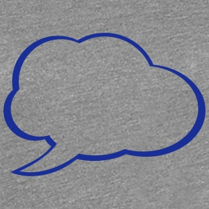 Speech Bubble T-shirts - Premium-T-shirt dam