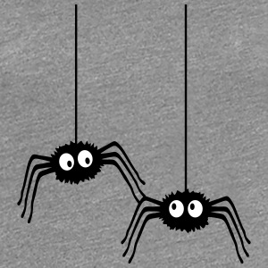 Funny Spiders T-shirts - Vrouwen Premium T-shirt