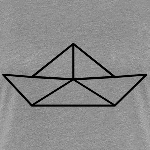 Paper Boat Tee shirts - T-shirt Premium Femme