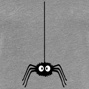 Funny Spider T-shirts - Dame premium T-shirt