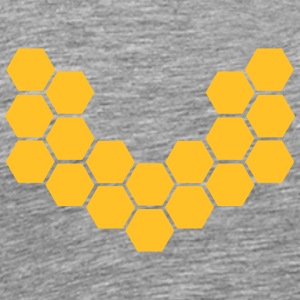 Honeycombs T-shirts - Herre premium T-shirt