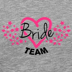 Bride Team T-shirts - Mannen Premium T-shirt