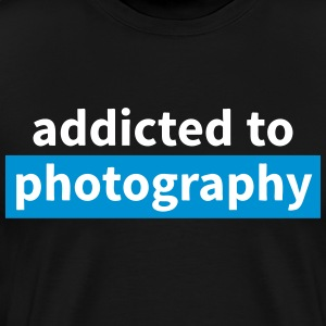 addicted to photography T-Shirts - Men's Premium T-Shirt