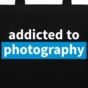 addicted to photography Bags & backpacks - Tote Bag