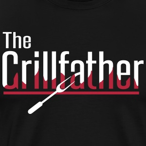 The Grillfather T-shirts - Mannen Premium T-shirt