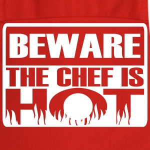 Beware the chef is hot  Aprons - Cooking Apron