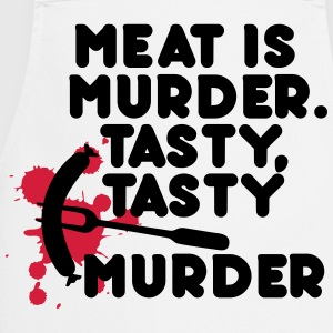 Meat is murder. Tasty, tasty murder  Aprons - Cooking Apron