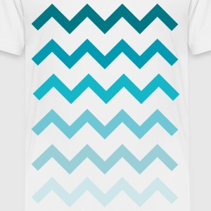 Wellen Water Waves  T-Shirts - Teenager Premium T-Shirt