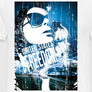 United States of Freedom - Men's Premium T-Shirt