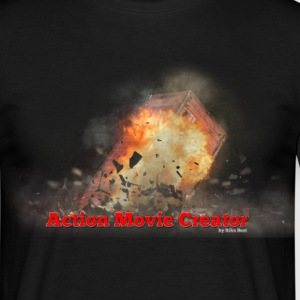 Action Movie Creator FX - Männer T-Shirt