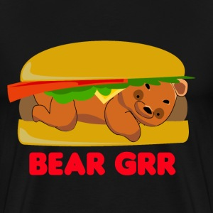 Bear Grr T-Shirts - Men's Premium T-Shirt
