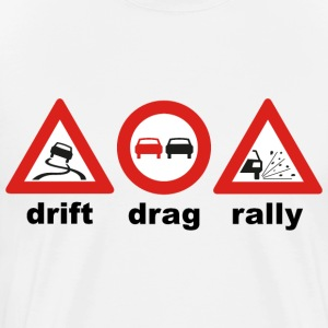 drift drag rally - Männer Premium T-Shirt