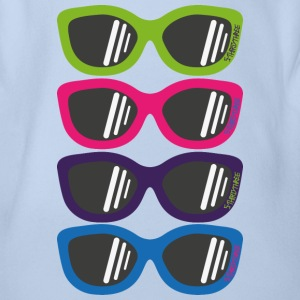 S33 Sunglasses 3 T-Shirts - Baby Bio-Kurzarm-Body