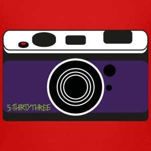 S33 Camera T-Shirts - Teenager Premium T-Shirt