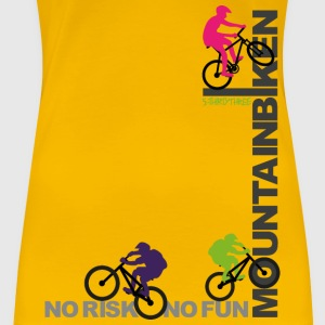 S33 Mountainbiken T-Shirts - Frauen Premium T-Shirt