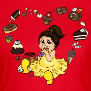 Red Chocolate and Candy T-Shirts - Women's T-Shirt