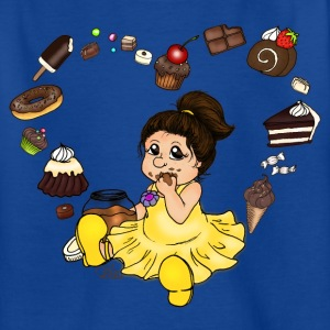 Royal blue Chocolate and Candy Shirts - Kids' T-Shirt