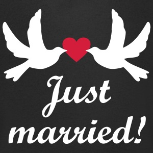Just Married! bruiloft Team Nlvrijgezellenfeest T-shirts - Mannen T-shirt met V-hals