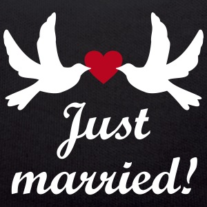 Just Married! Hochzeit vintage Clipart Bilder JGA Teddy - Teddy