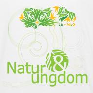 Motiv ~ Natur & Ungdom børne, øko, grønt logo