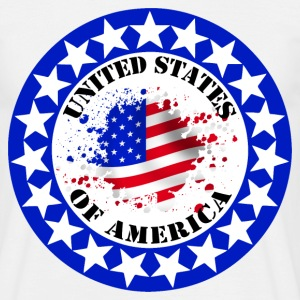 usa united states 08 T-Shirts - Men's T-Shirt
