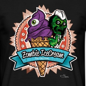 zombie ice cream Tee shirts - T-shirt Homme