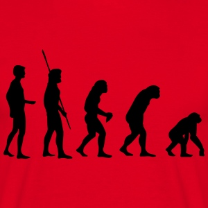 Evolution Reverse  T-shirts - Mannen T-shirt