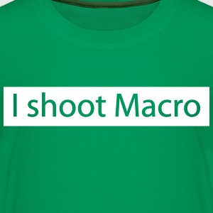 i shoot macro photos Shirts - Kids' Premium T-Shirt