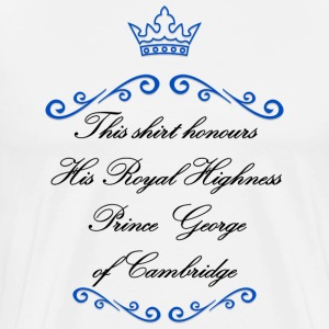 George of Cambridge T-Shirts - Men's Premium T-Shirt