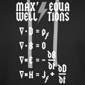 Maxwell's Equations - Heavy Metal Style Hoodies & Sweatshirts - Men's Premium Hoodie