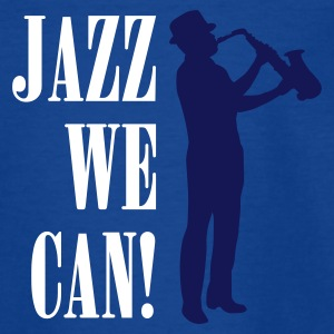 jazz_we_can_2c T-shirts - Teenager-T-shirt