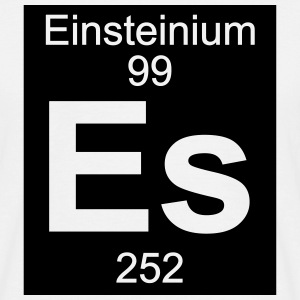 Element 99 - es (einsteinium) - Inverse (Full) T-skjorter - T-skjorte for menn