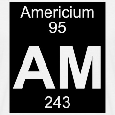 Element 95 - am (americium) - Inverse (Full) T-Shi