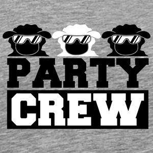 Party Crew Sheeps T-Shirts - Men's Premium T-Shirt