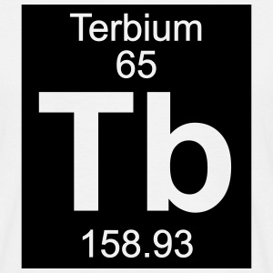 Terbium (Tb) (element 65) - Men's T-Shirt