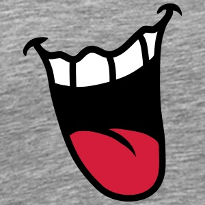 Mouth T-shirts - Premium-T-shirt herr