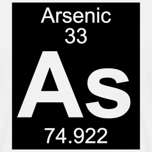 Arsenic (As) (element 33) - Men's T-Shirt