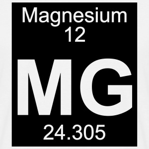 Element  12 - mg (magnesium) - Inverse (Full) T-Shirts - Männer T-Shirt