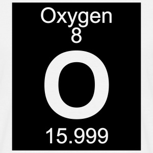 Element   8 -  o (oxygen) - Inverse (Full) T-skjorter - T-skjorte for menn