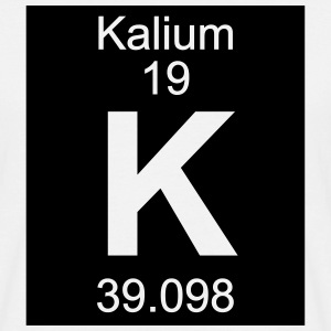 Kalium (K) (element 19) - Men's T-Shirt