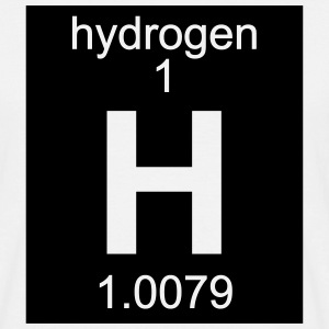Element 1 - h (hydrogen) - Inverse (Full) T-skjorter - T-skjorte for menn